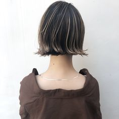 Short Bob Hairstyles, Girl Hairstyles, Short Hair Cuts, Short Hair Styles, Hair Arrange, Aesthetic Hair, How To Make Hair, Hair Highlights, Hair Designs