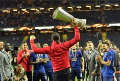 This is the best. :) Zlatan Ibrahimovic, Europa Cup win.