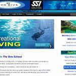 The dive school