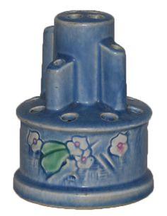 Roseville pottery flower frog