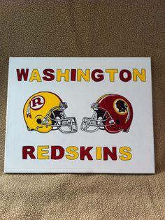 Washington Redskins painting