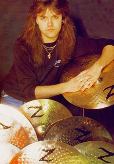 Lars Ulrich, my mom was pregnant with me at a metallica concert, if i had been born there i wud been named larsa after this guy lol great drummer but thank god i wasnt named after him