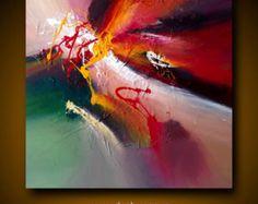 Vive la pintura abstracta Dan Bunea 70x70x4cm o 28 x por danbunea