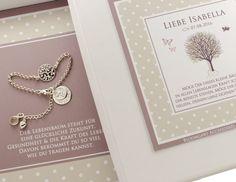 Namensketten - Taufschmuck mit Lebensbaum und Gravur 925 Silber - ein…
