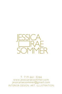 Jessica Rae Sommer | business card