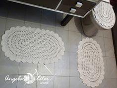 Angela Ester Croche: Jogo de banheiro simples