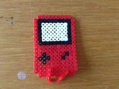 Perler beads gameboy (strijkkralen)