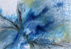 Painted by me, Mieke Siemons: Blauw www.mieksiemons.nl collection Wim van Dijken #collectievissen #water