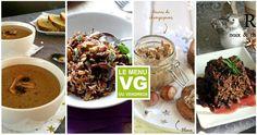 Menu VG du Vendredi - La Monomanie du Champignon Kiwi, Menu Vegan, Sans Gluten, Beef, Food, Cooking Recipes, Vegan Baking, Vegetarian Cooking, Friday