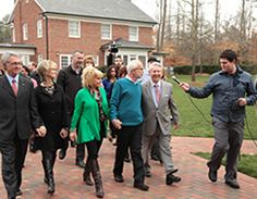 Pastor Jim & Lori Bakker pay tribute to Billy & Ruth Graham at the Billy Graham Library