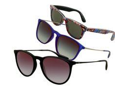 Lenti scure per antonomasia, gli occhiali da sole Ray Ban sono simbolo di tendenza e stile: ecco le novità per la collezione 2013 #otticodimassa #sunglasses #eyewear #rayban #lunettes #gafas #eyeglasses