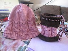 Ravelry: Owl Hat and Bag pattern by Noreen Hunter-Talbot
