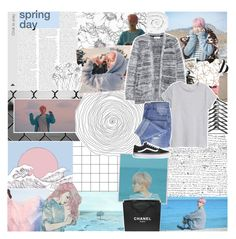 """spring day ♡ // my halloween costume remake!"" by embrxce ❤ liked on Polyvore featuring Assouline Publishing, Taya, Topshop, Brinkhaus, Chanel and halloweencostume"
