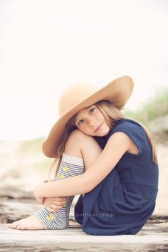 Photography Inspiration for Children. from Bellini Portraits. love the soft processing and her outfit rocks!