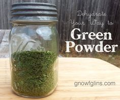 Sometimes, the growing mound of greens going unused in the crisper drawer of my fridge can get overwhelming. I know I can freeze them for smoothies down the road, but I have an even better way of preserving the them -- I turn them into nutritious green powder which I can then add to countless dishes