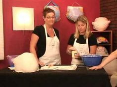▶ Body Molding & Belly Casting : How to Cut Plaster for Hands in Belly Casts - YouTube