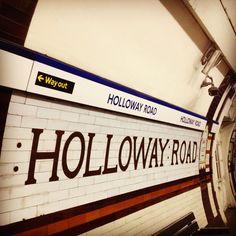 London Tube - Holloway Road = Home