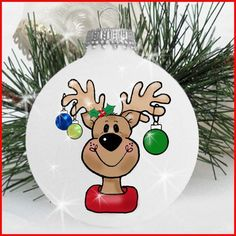 1000+ images about Christmas Ornaments on Pinterest   Snowman Ornaments, Lightbulb Ornaments and Painted Snowman