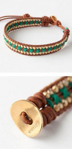 CHAN LUU bracelet accessories (ULT GRN-NBRN Green)