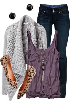 """Leopard My Loafers"" by qtpiekelso ❤ liked on Polyvore"
