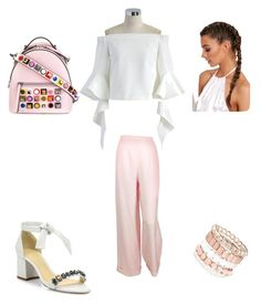 """""""Untitled #49"""" by aloona-panda on Polyvore featuring Fendi, Alexandre Birman, Chicwish, Chanel and Avenue"""