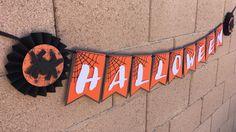 Halloween Banner happy halloween banner by AandNBannerCreations