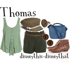 Thomas by disneythis-disneythat on Polyvore featuring Dotti, Miss Selfridge, FLORIAN DENICOURT, Monserat De Lucca and August Hat