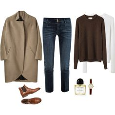 A fashion look from February 2014 featuring La Garçonne Moderne sweaters, T By Alexander Wang sweaters and Zero + Maria Cornejo coats. Browse and shop related l...