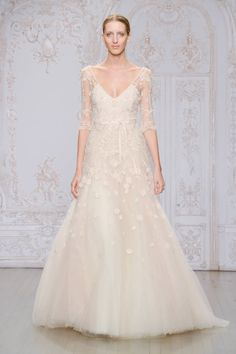 Fall 2015 Designer Wedding Dresses - Couture Wedding Dress Designers - Harper's BAZAAR