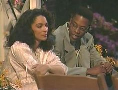 """A Different World"" Dwayne and Whitley, best crashing of wedding ever!"