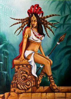 aztec princess iztaccihuatl