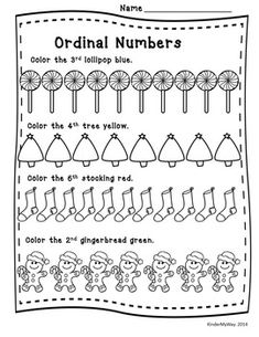 CHRISTMAS MATH PRINTABLES - READY TO USE - Fun worksheets to use for math centers, morning work, or homework all centered around a fall theme. Packet includes: Add and Color by Code Color by Number Graphing Fill in the Missing Number 1-12 and 1-32 Count and Label Sets Sort Odd and Even Numbers Sort Big and Small Objects Cut and Paste What Comes Next Patterning Decorate Ornaments - Number Words Read and Color Stockings Ordinal Numbers Smallest to Largest