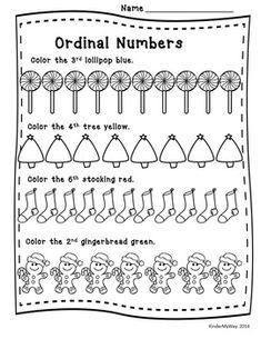 Valentine's Day Math Worksheets (Kindergarten