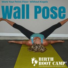 Strengthen The Pelvic Floor Without Kegels - Birth Boot Camp® Amazing Childbirth Education Classes Prenatal Workout, Prenatal Yoga, Pregnancy Workout, Pregnancy Guide, Floor Workouts, Easy Workouts, Low Impact Cardio Workout, Doula Training, Pelvic Floor Exercises