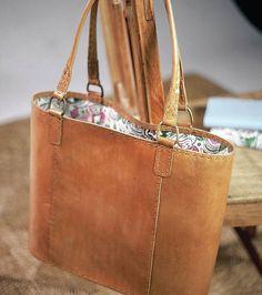 Fair Trade Savannah Leather Bag
