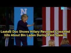 Clinton reveals secret details of bin Laden raid in private speech - YouTube