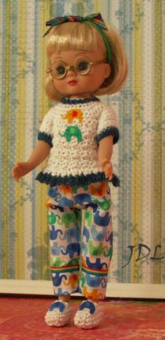 """Handmade Outfit for 8"""" Betsy McCall or Ann Estelle by JDL Doll Clothes jdldollclothes.com"""