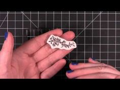 Quick Tip - Clear or cling stamp no longer sticking to a block? Let's fix it! - YouTube