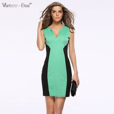 Find More Dresses Information about Summer Women Dress 2016 pencil dress sexy V Neck sleeveless the wear to the office sheath dress A601,High Quality dress clogs for women,China dress sandals Suppliers, Cheap dresses dress up from Sunflower Bridal 2 on Aliexpress.com