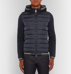 moncler hybrid jacket