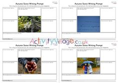Use the prompts around each of the autumn scenes on these printable worksheets to help the children brainstorm ideas for stories and writing projects. Autumn Activities For Kids, Autumn Scenes, Autumn Crafts, Printable Worksheets, Writing Prompts, Fun, Fall Crafts, Writing Ideas, Writing Tips