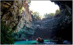 lago cueva melisani, cefalonia, Grecia