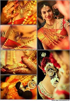 How To Look Like A Beautiful South Indian Bride? | Bridal Sarees