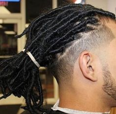 """Dreadlocks also known as locs or dreads are a signature hairstyle of the black culture. They are formed by mattingRead More Dreadlock hairstyles for men"""" Dreads Styles, Mens Dreadlock Styles, Dreadlock Hairstyles For Men, Black Men Hairstyles, Haircuts For Men, Braid Styles, Braided Hairstyles, Curly Hair Styles, Cool Hairstyles"""