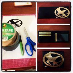Hunger Games Mockingjay duct tape wallet!