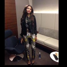 .@luxurylaw   Full look shirt and pants Etro jacket Sandro and shoes Louboutin