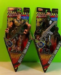 The Elite Corps Super Soldiers Dynamite And Slash Action Figures New Gift Gi Joe Vehicles, Small Soldiers, Super Soldier, Board Games, Kids Toys, Action Figures, Gifts, Ebay, Military