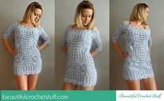 Crochet Beach Cover Up Pattern | Beautiful Crochet Stuff