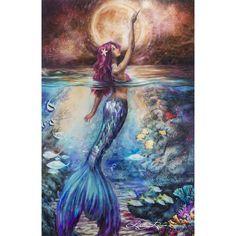 """Moonlit Siren"" - XL Print"