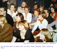 Uit de oude doos. Ik denk 1976. O.a.Ria, Trudy, Charles, Theo, Yvonne en Hans.